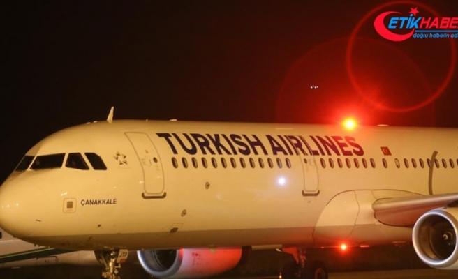 Türkiye'den Süleymaniye'ye ilk uçak seferi gerçekleşti