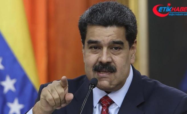 Venezuela Devlet Başkanı Maduro: ABD'ye gereken yasal cevabı vereceğiz