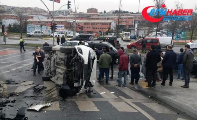 Vurduğu gibi ters döndü! Kulüp başkanının da olduğu kazada can pazarı