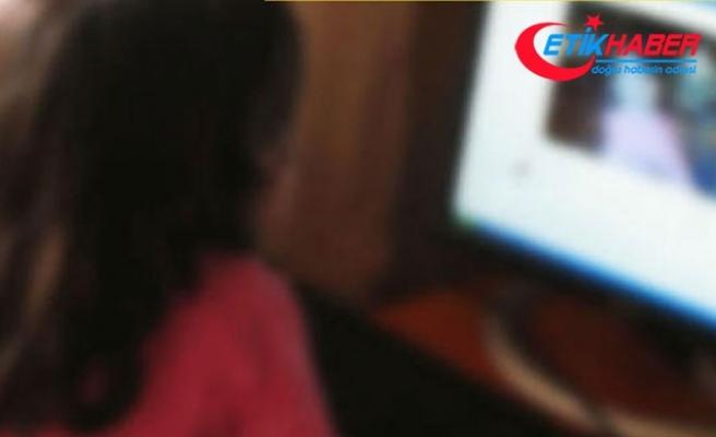 10 yaşındaki çocuğunun mesajlarını inceledi ve... Sapığı baba yakaladı