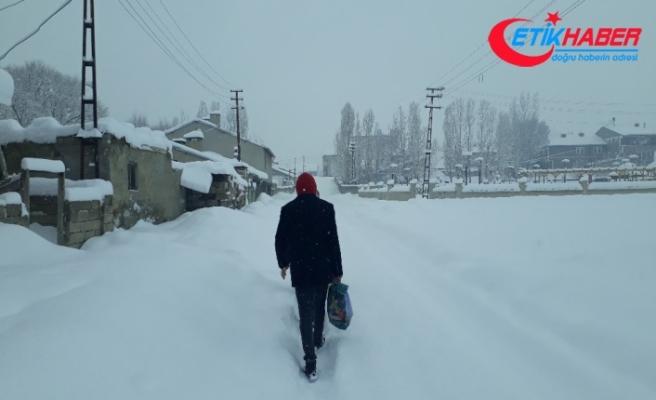 351 köy yolu ulaşıma kapandı