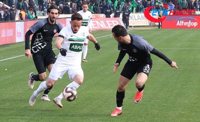 Abalı Denizlispor-Osmanlıspor: 0-2