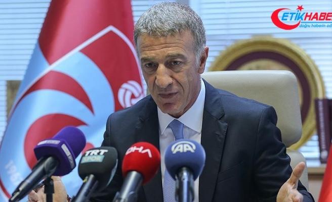 Ahmet Ağaoğlu, camiadan ve taraftarlardan özür diledi