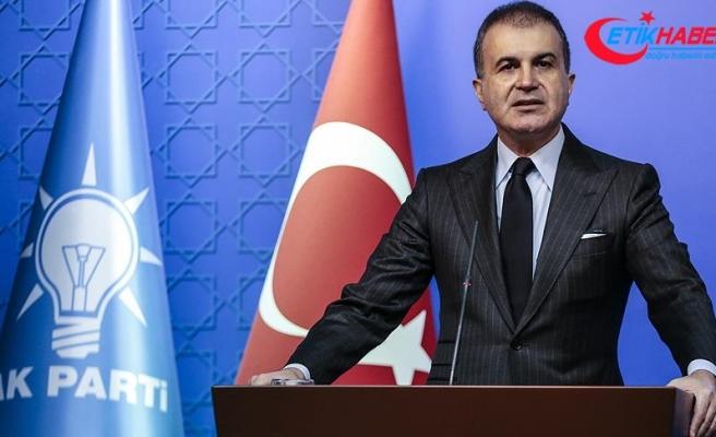 AK Parti Sözcüsü Çelik: Fransa öncelikle insanlığa karşı işlediği suçlarla yüzleşmeli