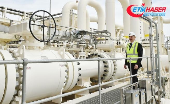 Aliyev: Güney Gaz Koridoru'nun tamamlanmasına az kaldı