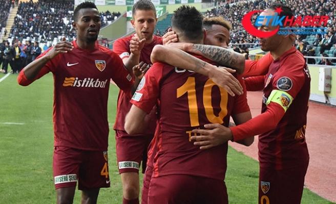 Atiker Konyaspor - İstikbal Mobilya Kayserispor: 0-1