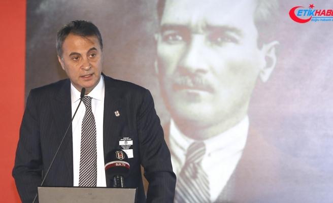 Beşiktaş Kulübü Başkanı Fikret Orman: Benim karşıma ciddi aday çıkartın