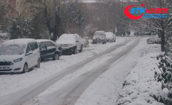 Bingöl'de 281 köy yolu kardan kapandı
