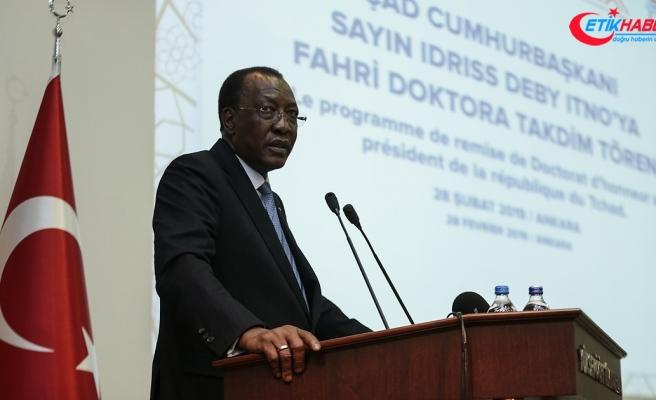 Çad Devlet Başkanı İdris Debi Itno: 2010'da Türkiye'de 4 öğrenci varken şimdi 900 Çadlı öğrenci var'