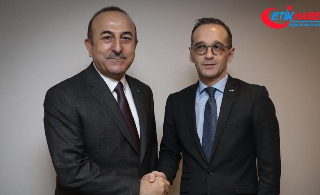 Çavuşoğlu Almanya Dışişleri Bakanı Mass ile görüştü