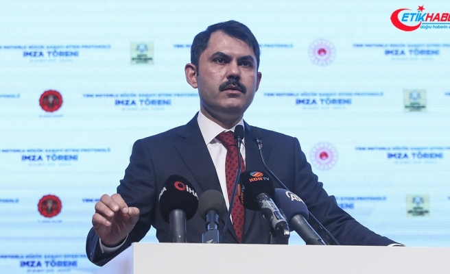 Çevre ve Şehircilik Bakanı Kurum: Atıl arazileri sektörlerimize kazandıracağız