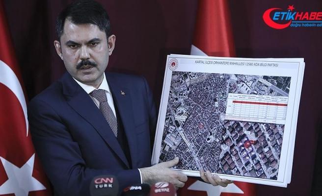 Çevre ve Şehircilik Bakanı Kurum: Riskli 8 bina yıkılacak