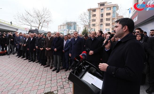 Çevre ve Şehircilik Bakanı Kurum: Türkiye'de yenilenmesi gereken 6,7 milyon konut var