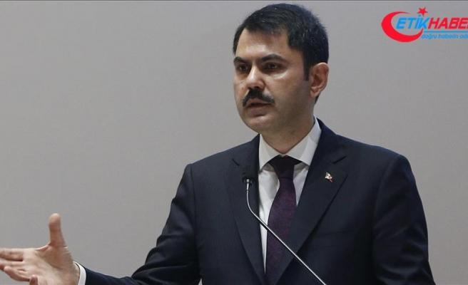 Çevre ve Şehircilik Bakanı Kurum: Yıllık 300 bin konutun 30 binini Bakanlık olarak dönüştüreceğiz