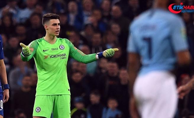 Chelsea'den Kepa'ya maaş cezası