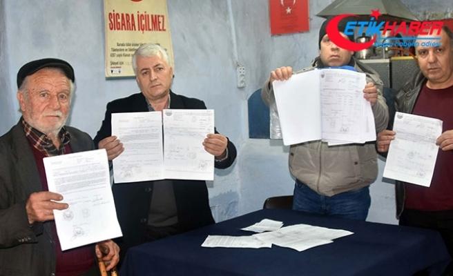 Çiftçilerden kooperatife senet imzalatıp, borçlu çıkarıldıkları iddiasıyla suç duyurusu