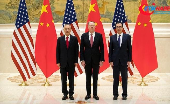 Çin ve ABD arasındaki ticari müzakereler başladı