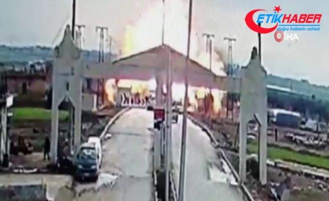 Suriye'de Türkiye sınırındaki Çobanbey'de bomba yüklü araç saldırısı