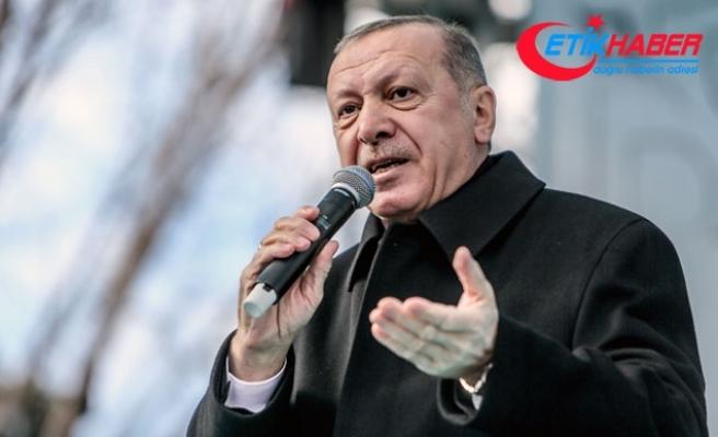 Cumhurbaşkanı Erdoğan: Asla müsaade etmedik ve etmeyeceğiz