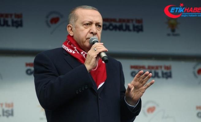 Cumhurbaşkanı Erdoğan: Büyük Türkiye hedefine karşı kurulan her tuzağı bozacağız