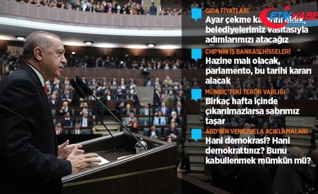 Cumhurbaşkanı Erdoğan: İş Bankası Allah'ın izniyle Hazine'nin malı olacaktır