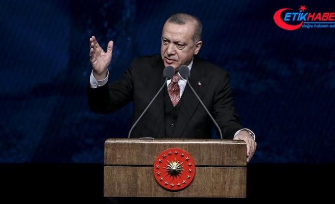 Cumhurbaşkanı Erdoğan: Cumhur İttifakı olarak, bizi sandıkta birinci yapan milletime şükranlarımı sunuyorum