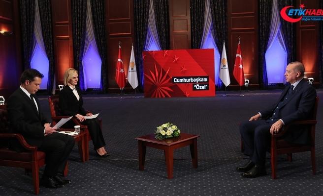 Cumhurbaşkanı Erdoğan: Suriye halkı bize güvendiği için aşiretler 'Münbiç' çağrısı yapıyor