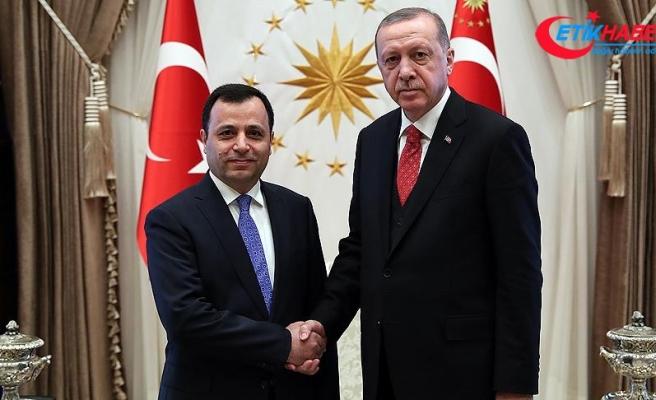 Cumhurbaşkanı Erdoğan Zühtü Arslan'ı kabul etti