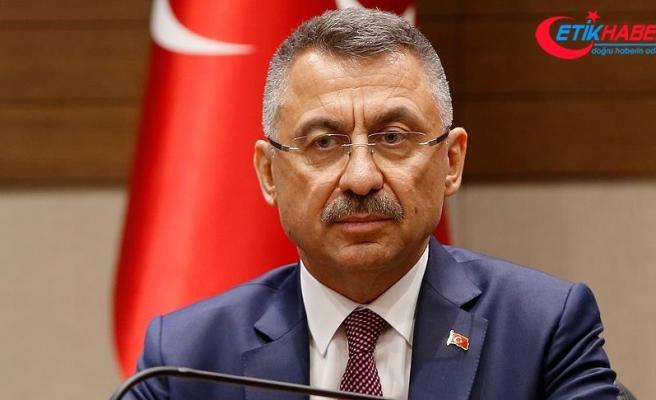 Cumhurbaşkanı Yardımcısı Oktay: Terör örgütlerini çökertmek için inançla mücadele ediyoruz