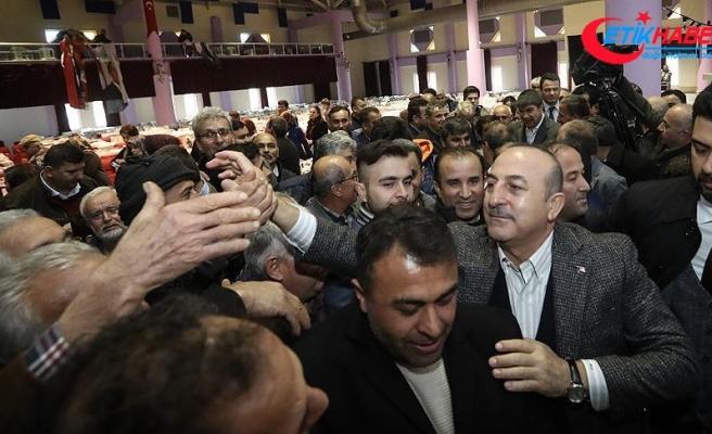 Dışişleri Bakanı Çavuşoğlu: Biz her ortamda çiftçimizin yanındayız