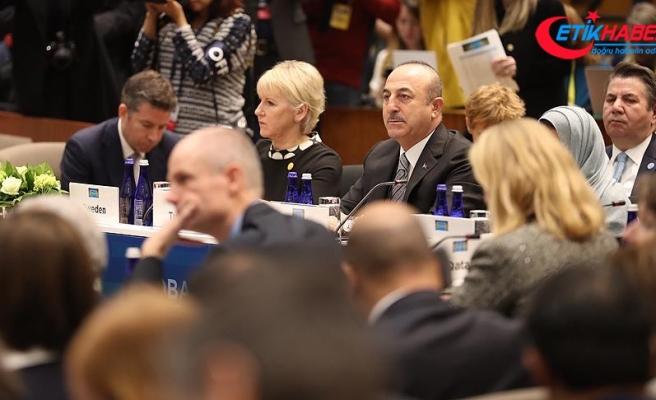 Dışişleri Bakanı Çavuşoğlu: DEAŞ'ın temizlenmesi ve ABD'nin çekilmesi koordineli olmalı