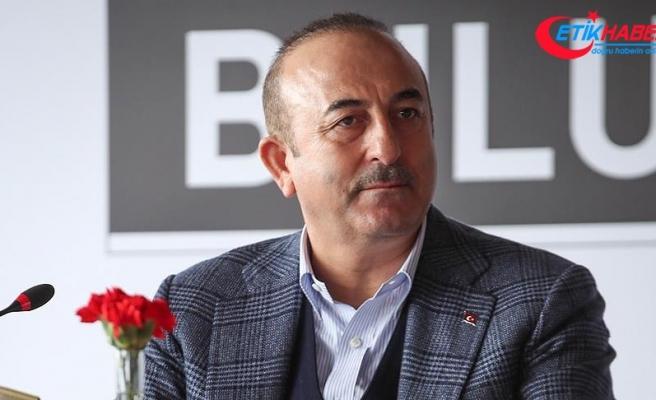 Çavuşoğlu: Ülkenin parçalanmasını isteyenler kirli ittifakın içinde