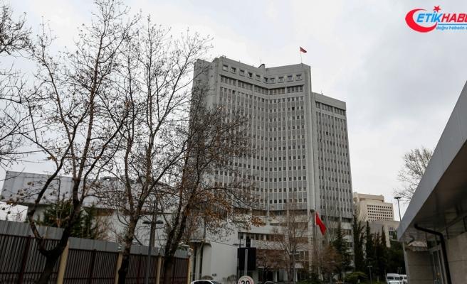 Dışişleri Bakanlığından 'Hocalı Katliamı' kınaması
