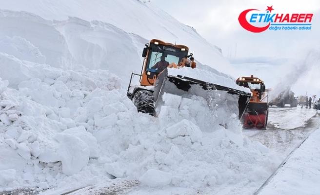 Doğu Anadolu'da 111 yerleşim yeri yolu ulaşıma kapandı