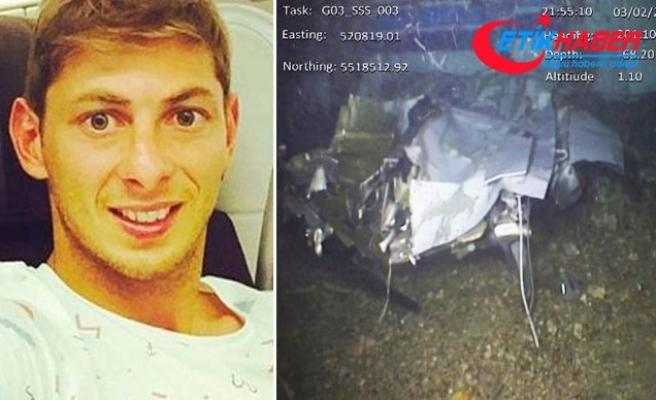 Emiliano Sala'yı taşıyan uçağın enkazından yeni fotoğraflar yayınlandı