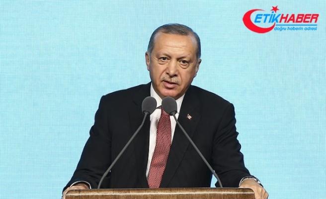 Erdoğan: Ekonomik tetikçilere Osmanlı tokadını hep birlikte vuracağız