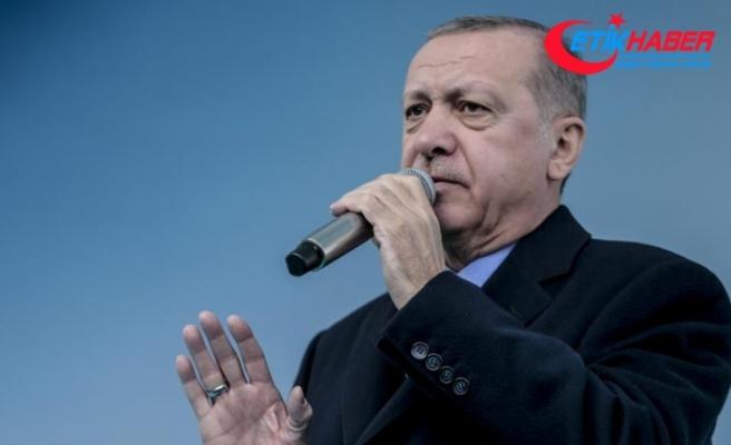 Erdoğan: Gıdada terör estirenlere gereken dersi verdik