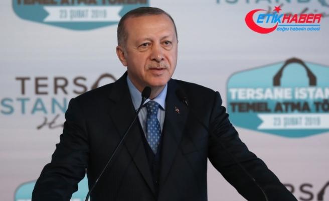 Erdoğan: Tersane İstanbul turizm gelirine de olumlu katkı yapacak