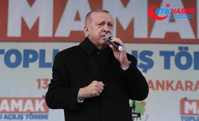 Erdoğan: 'Yıkım ittifakı seçimleri 17 yılın hesaplaşması olarak görüyor'