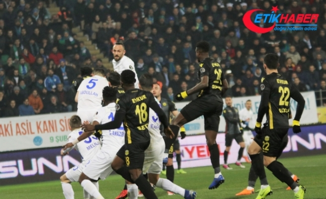 Evkur Yeni Malatyaspor deplasmanda kaybetti