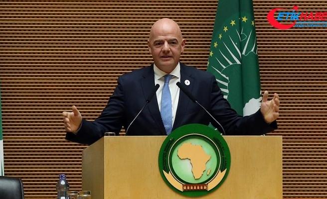 FIFA Başkanı Infantino: Afrika futbolla birçok problemin üstesinden gelebilir