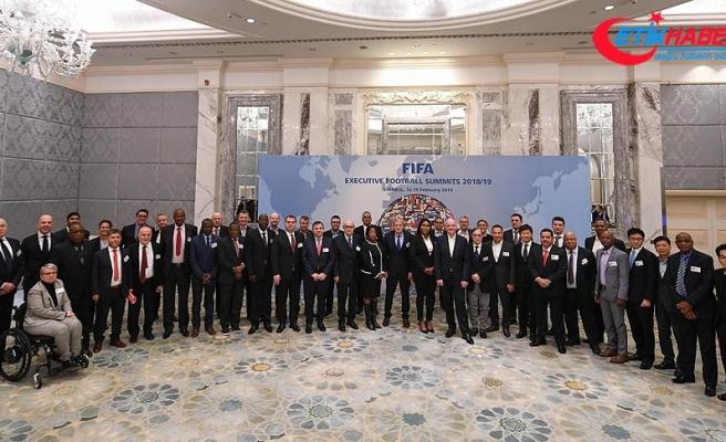 FIFA Futbol Zirvesi İstanbul'da başladı