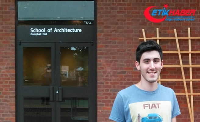 Genç Türk mimardan ABD'de büyük başarı