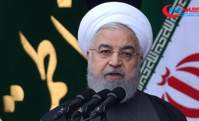 İran Cumhurbaşkanı Ruhani: Bölgedeki terörün kaynağı ABD ve İsrail'dir