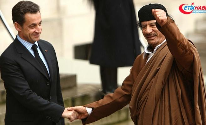 Kaddafi'nin istihbarat şefi Sennusi: Sarkozy, Kaddafi'den 8 milyon dolar aldı