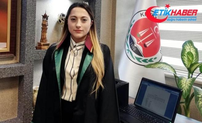 Kadın avukata bürosunda 'icra takibi' saldırısı
