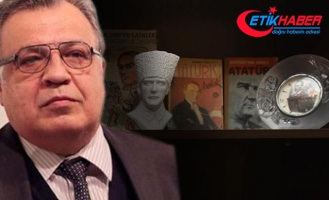 Karlov'un özel eşyaları arasında dikkat çeken Atatürk detayı