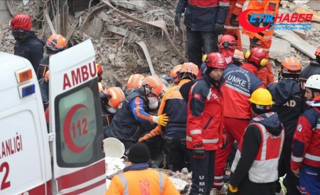 Kartal'da binanın çökmesi sonucu ölenlerin sayısı 18'e yükseldi