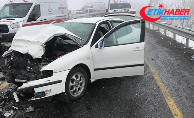 Kayseri'de zincirleme kaza: 7 yaralı