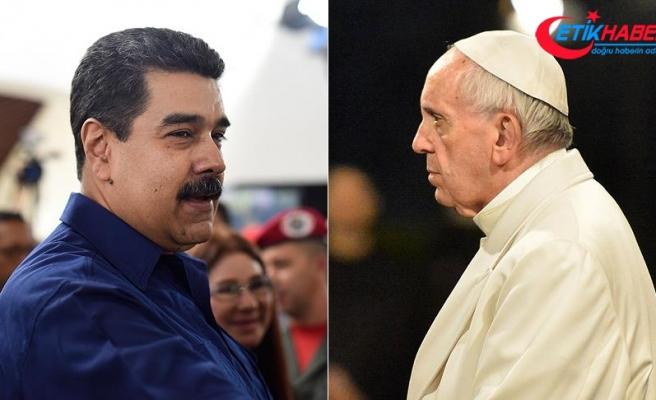 Maduro'dan Papa'ya mektup
